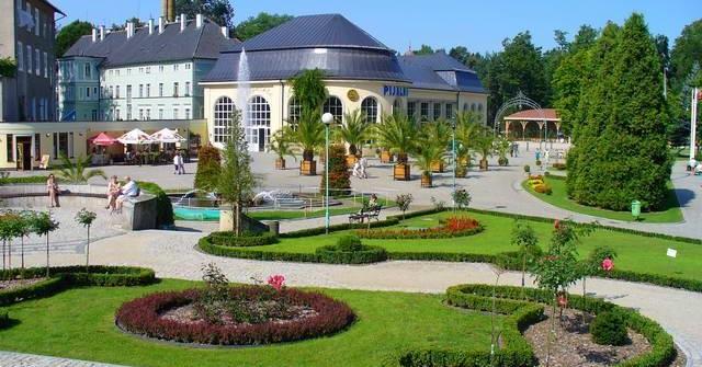 Promenada, Pijalnia wód i Park Zdrojowy w Polanicy Zdroju