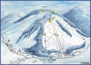 stacja narciarska kamienica